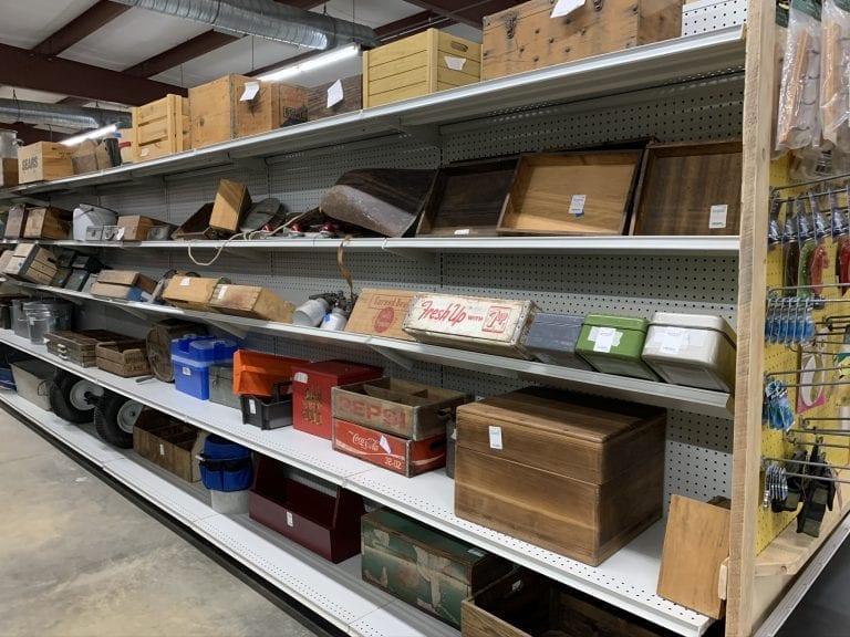 Maker's Market Aisle