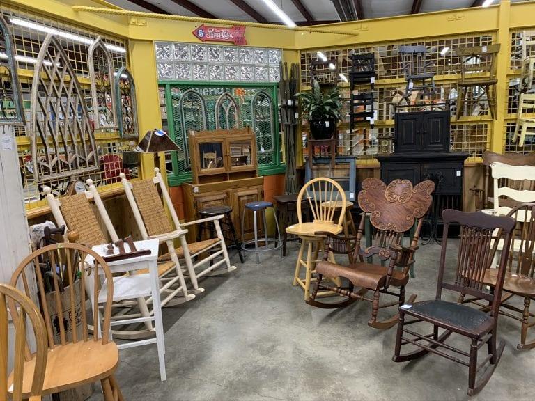 Market Furniture Area