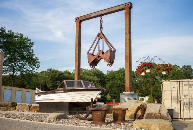 Boat - grounds of Sonetta