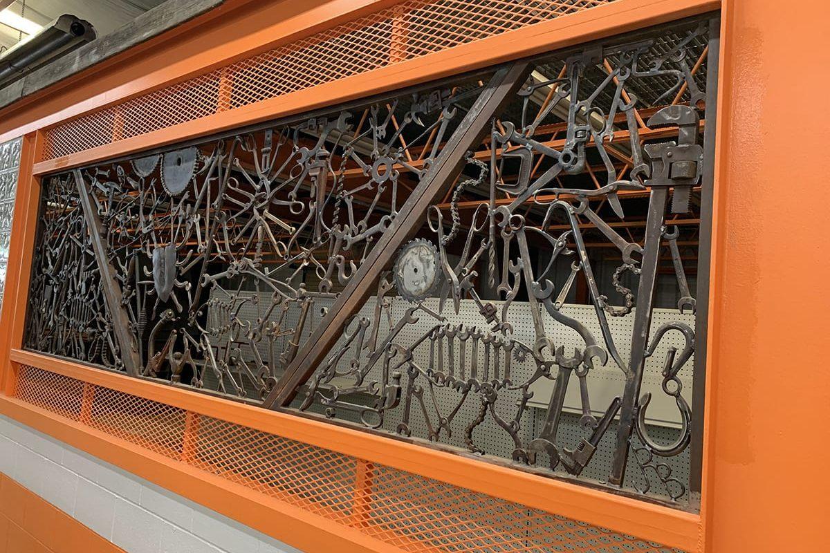 Artistic Tool Wall